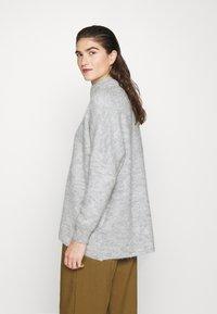 Selected Femme - SLFLULU ENICA  - Jumper - light grey melange - 2