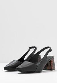 co wren wide fit - Escarpins - black - 4