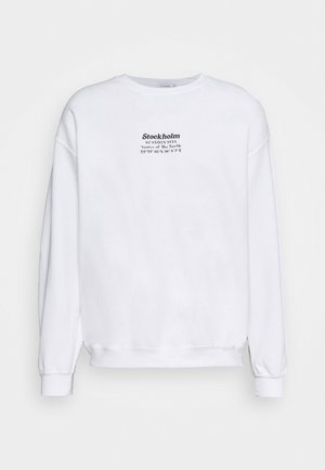 STOCKHOLM HERITAGE PRINT - Sweater - white