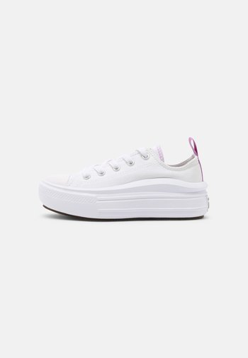 CHUCK TAYLOR ALL STAR MOVE - Sneakers - white/pixel purple
