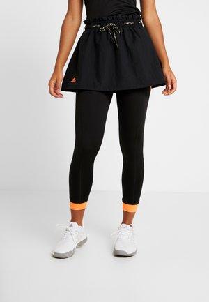 2-IN-1 SKIRT - Sportovní sukně - black