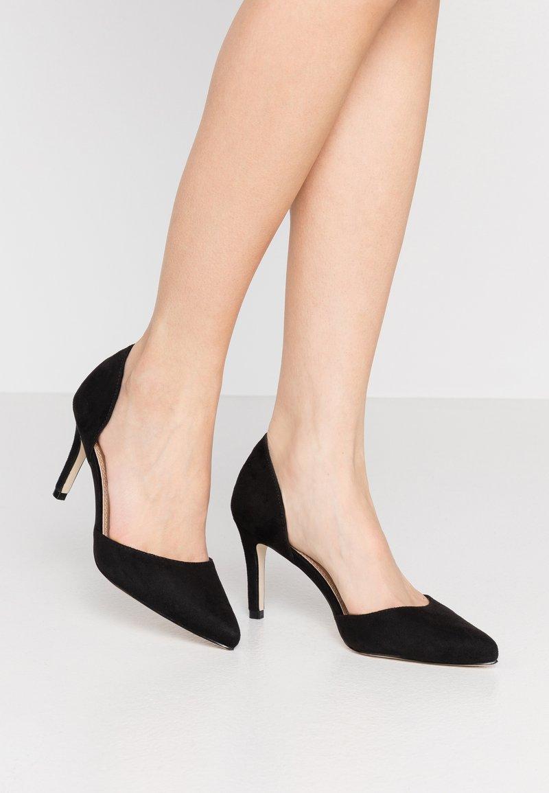 Glamorous Wide Fit - BOB - Lodičky na vysokém podpatku - black