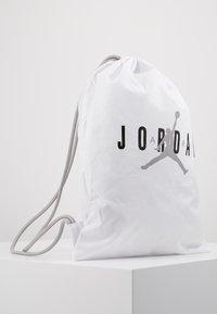 Jordan - GYM SACK UNISEX - Drawstring sports bag - white - 4