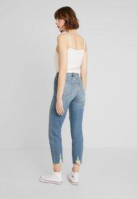 Hollister Co. - MOM - Slim fit jeans - destroyed denim - 2