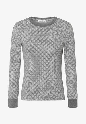 Pyjama top - dark grey