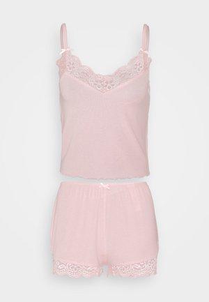 SHORT SET - Yöasusetti - pink pearl