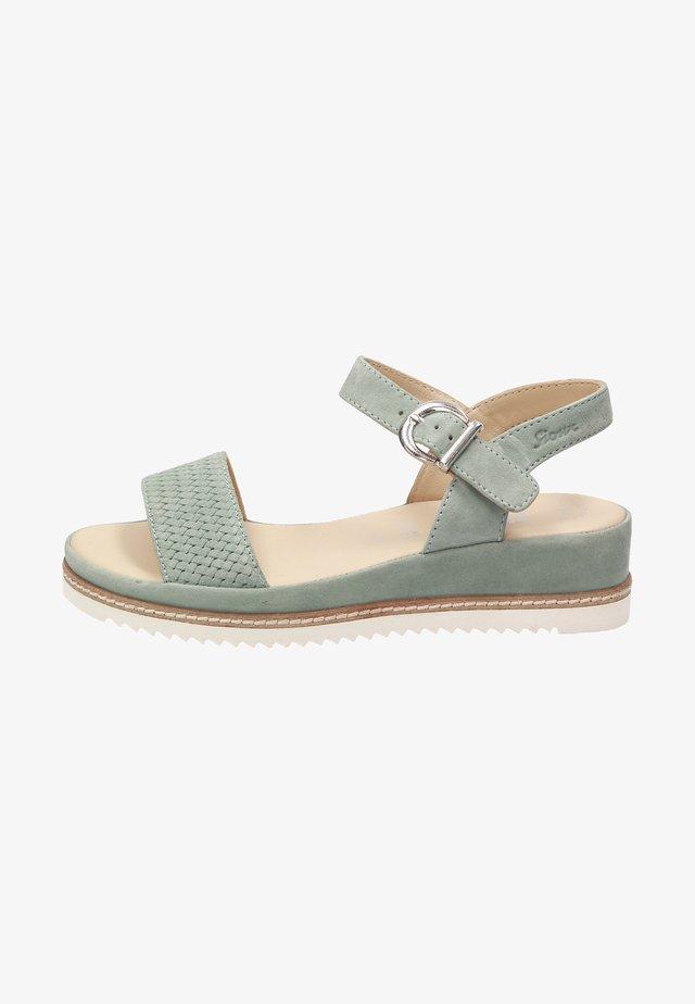 Sandales de randonnée - grün