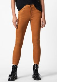 AllSaints - MILLER COATED JEAN - Jeans Skinny Fit - yellow - 0