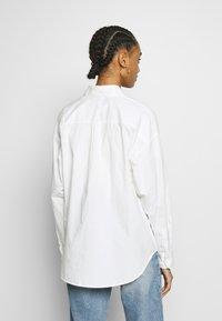 Monki - MEJA  - Button-down blouse - white - 2