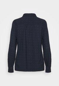Marks & Spencer London - FRILL COLLAR - Bluser - dark blue - 1
