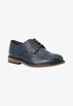 Smart lace-ups - dark blue