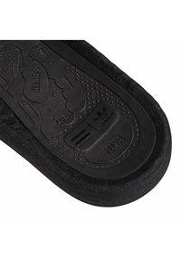 adidas Originals - ADIDAS ORIGINALS  X PHARRELL WILLIAMS BOOST SLIDES - Pool slides - black - 8