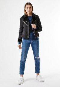 Dorothy Perkins - Faux leather jacket - black - 1