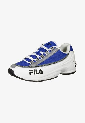 Trainers - white/electric blue