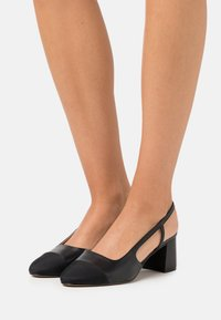 Dune London WIDE FIT - WIDE FIT CROFTS - Tacones - black - 0
