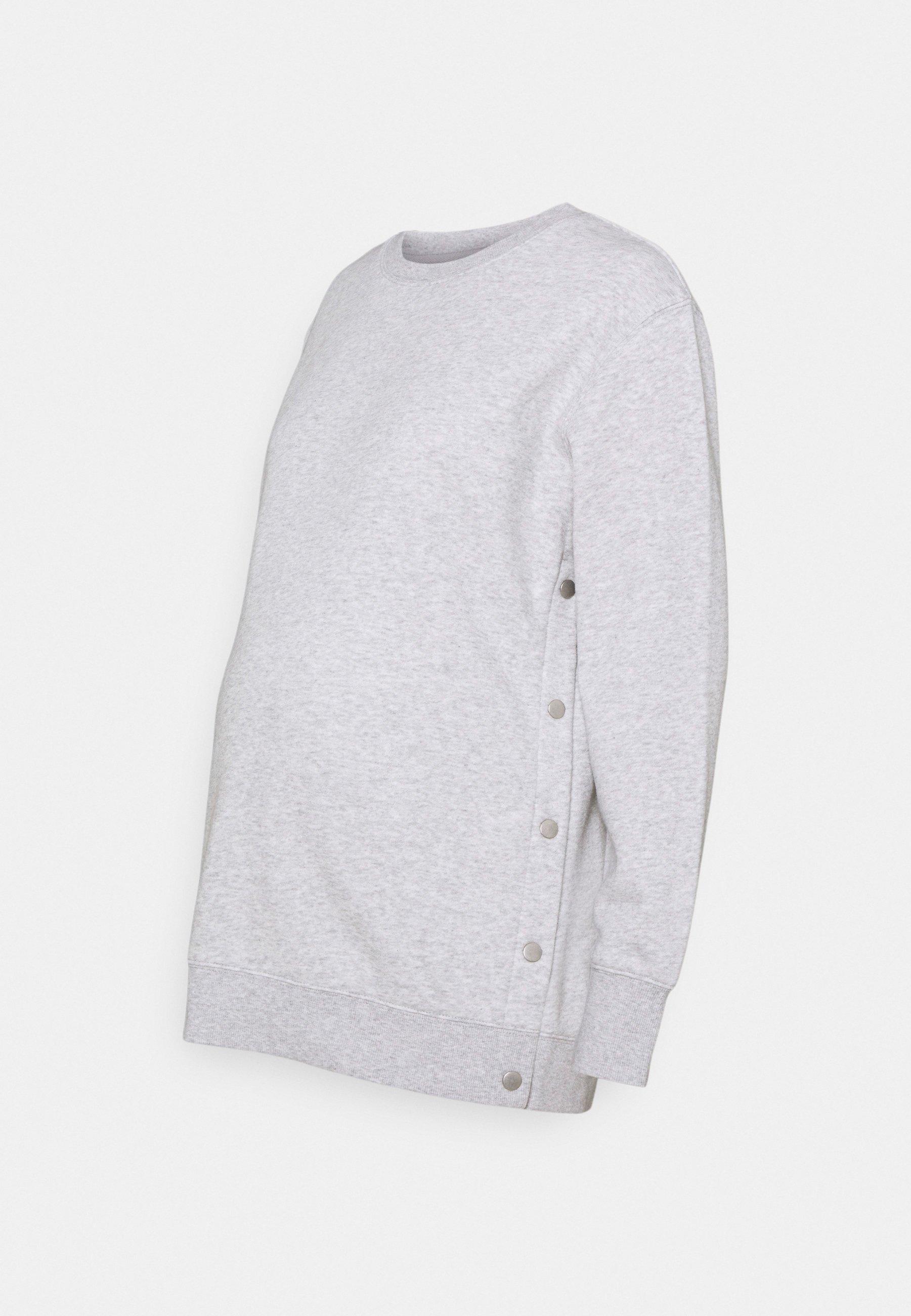 Women MATERNITY BUTTON SIDE - Sweatshirt