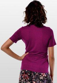 Mava Lóu - Print T-shirt - fuchsia - 4