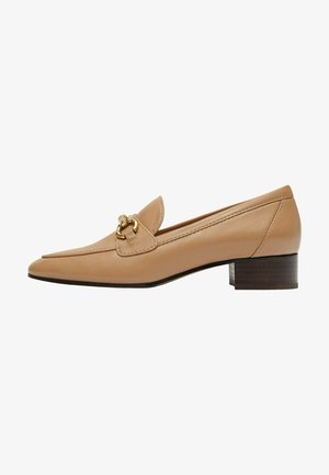 Loaferit/pistokkaat - camel
