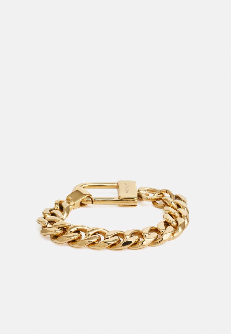 Vitaly - LOGIC UNISEX - Armband - gold-coloured