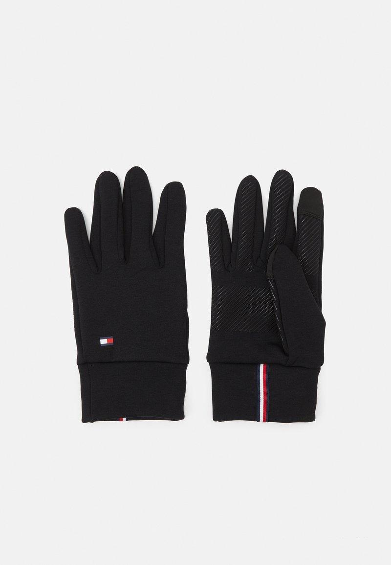 Tommy Hilfiger - MENS TOUCH GLOVES - Gloves - black