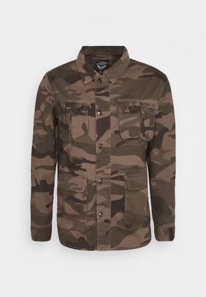 DELTA CAMO - Summer jacket - khaki/camo