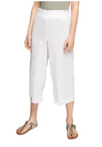 s.Oliver - Trousers - white - 6