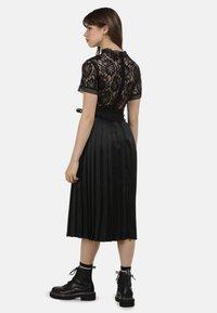 myMo ROCKS - KLEID - Cocktail dress / Party dress - black - 2