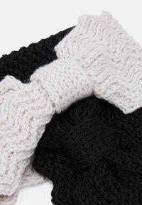 Even&Odd - Ear warmers - black/offwhite - 2