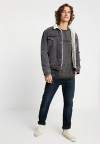 Levi's® Engineered Jeans - LEK TEE - T-shirt med print - dark heather grey - 1