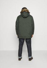 Jack & Jones - JJSKY JACKET - Winter coat - dark green melange - 2