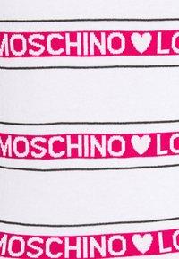 Love Moschino - Jumper dress - optical white - 5