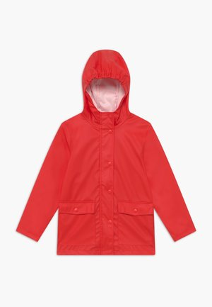 NKNMIL RAIN JACKET - Waterproof jacket - high risk red