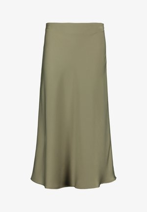 Pencil skirt - dusty olive