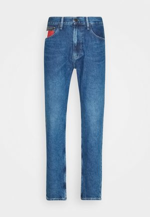 REY RELAXED TAPERED - Relaxed fit jeans - blue denim