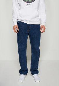 Levi's® - 551Z™ AUTHENTIC STRAIGHT - Jeans a sigaretta - dark blue denim - 0