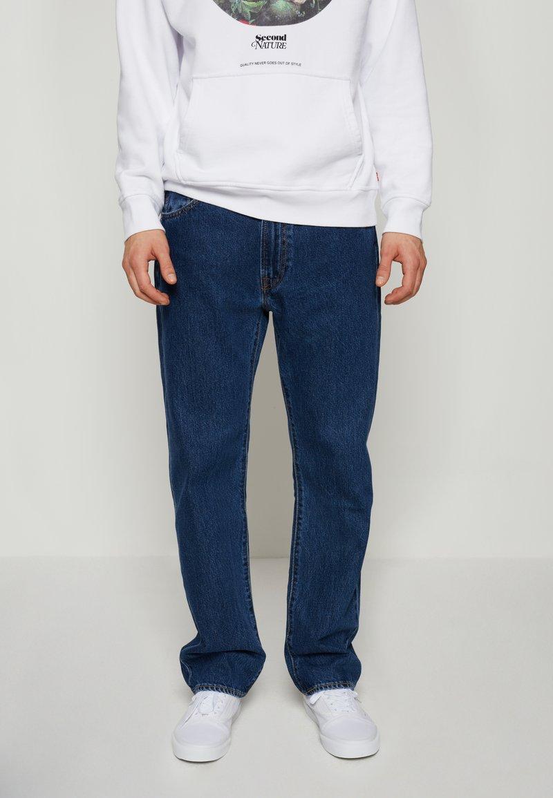 Levi's® - 551Z™ AUTHENTIC STRAIGHT - Jeans a sigaretta - dark blue denim