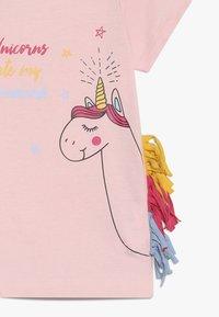 Lemon Beret - SMALL GIRLS - T-shirt print - orchid pink - 3