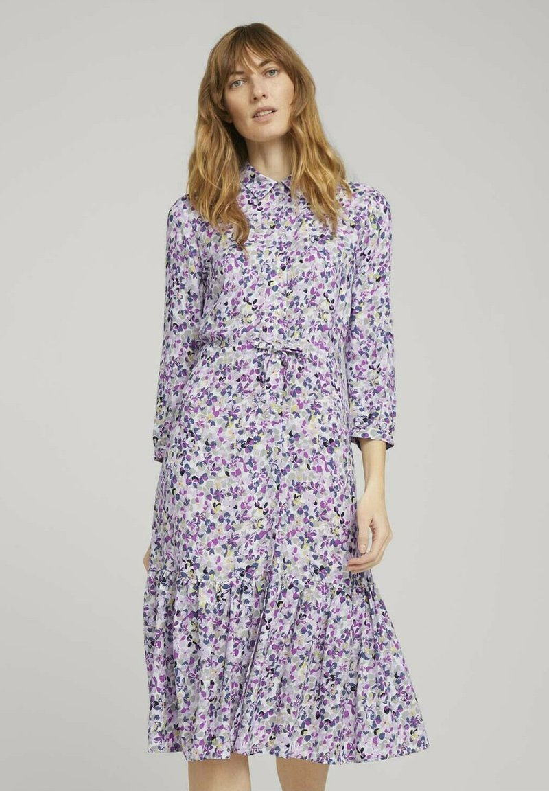 TOM TAILOR - Robe chemise - lilac