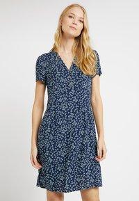 Esprit - FLUENT - Shirt dress - navy - 0