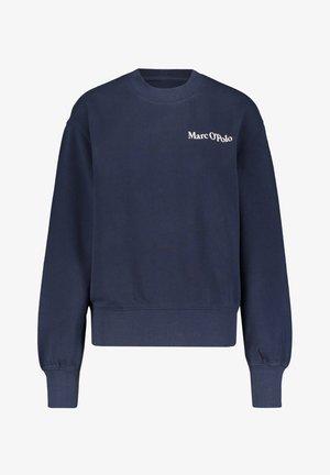OVERSIZED, LONG SLEEVE, HIGH NECK, PLACED PRINT - Sweatshirt - marine (52)