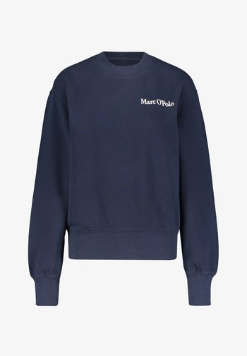 OVERSIZED, LONG SLEEVE, HIGH NECK, PLACED PRINT