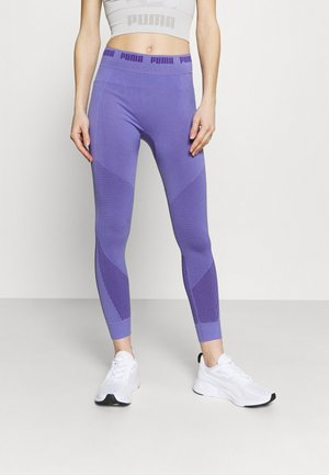 EVOSTRIPE EVOKNIT 7/8 - Leggings - hazy blue