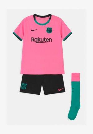 FC BARCELONA SET UNISEX - Club wear - pink beam/black