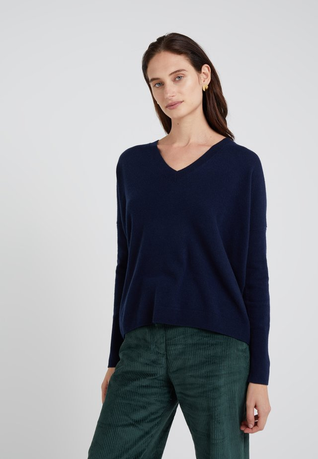 ROSAYLN CASHMERE SWEATER - Jumper - navy