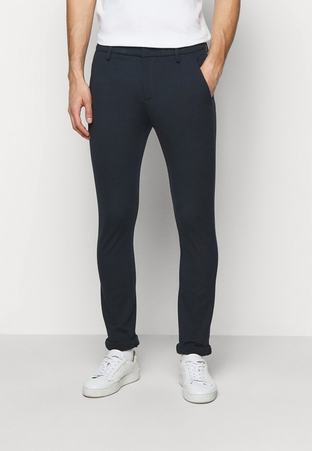 PANTALONE GAUBERT - Broek - dark blue