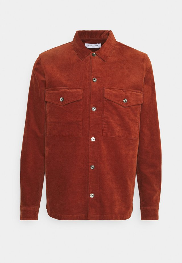 TAKA  - Shirt - brandy brown