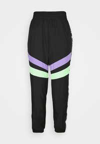 Karl Kani - TAPE BLOCK TRACKPANTS  - Jogginghose - black - 4