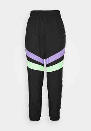TAPE BLOCK TRACKPANTS  - Joggebukse - black