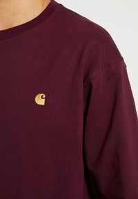 Carhartt WIP - CHASE - Long sleeved top - shiraz / gold - 5
