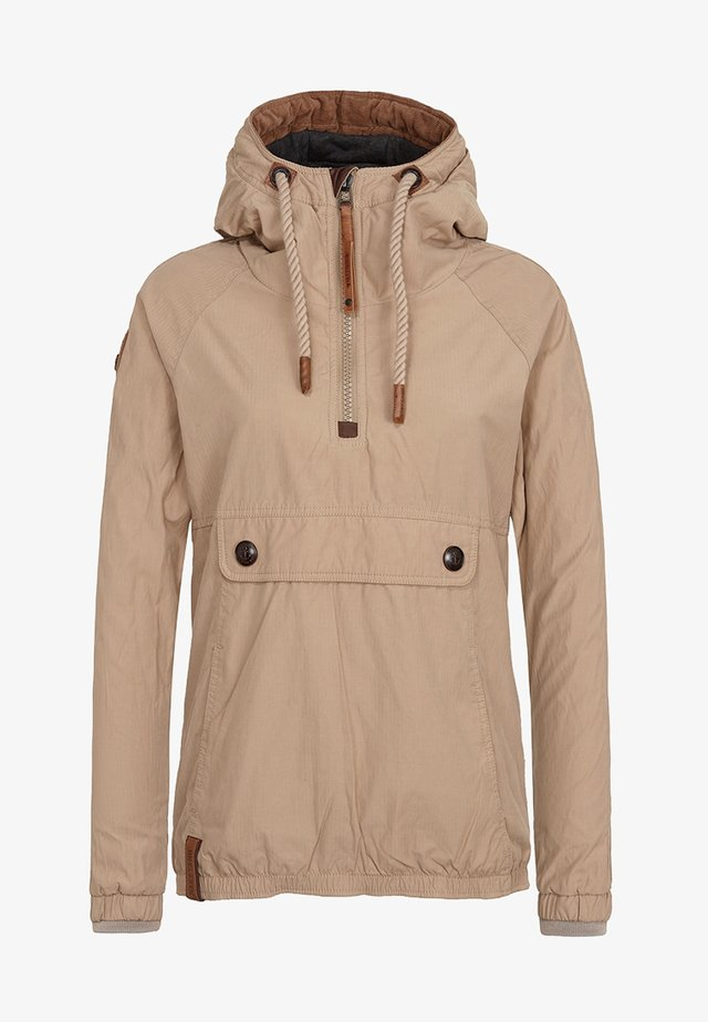Outdoor jacket - sand